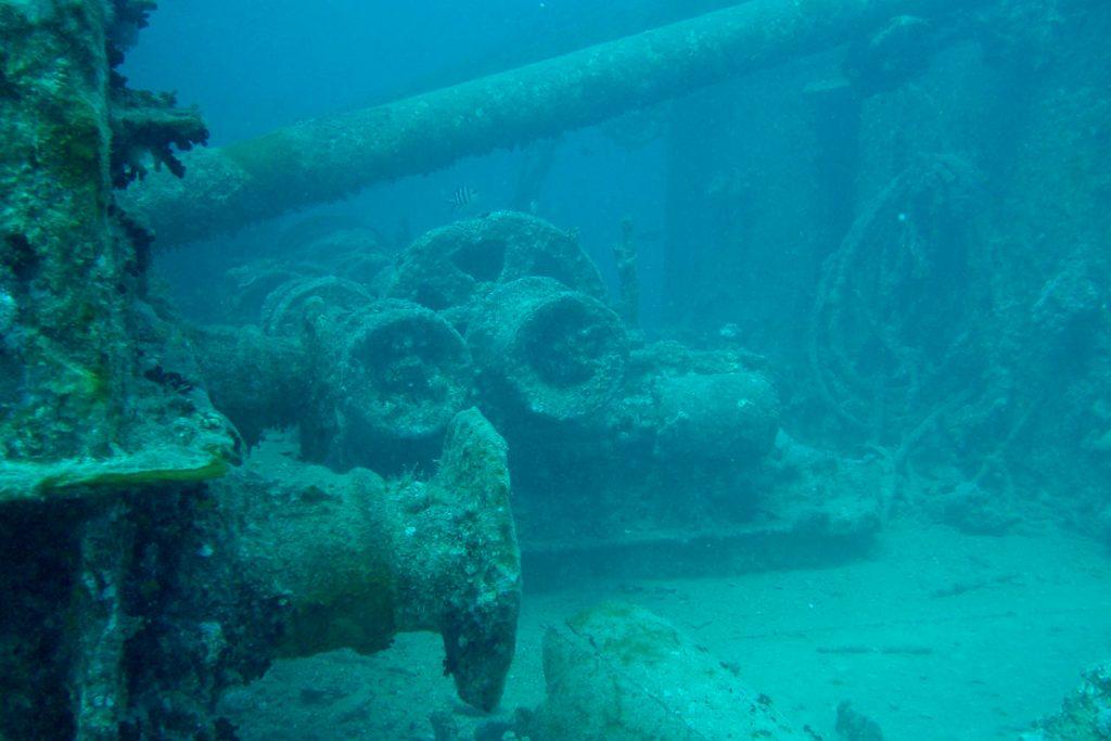 SS Thistlegorm wreck dive site egypt
