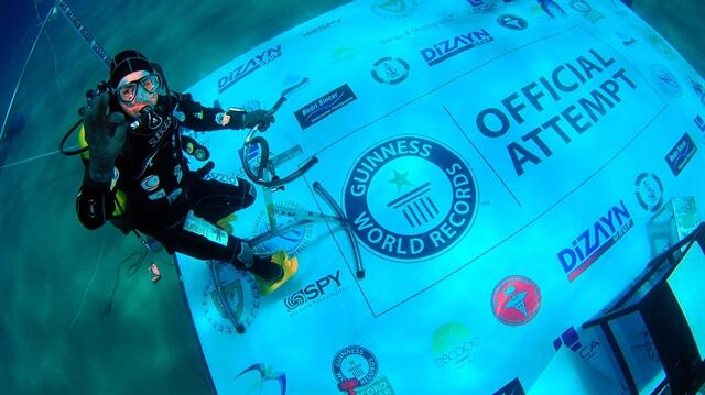 cem karabay record diver