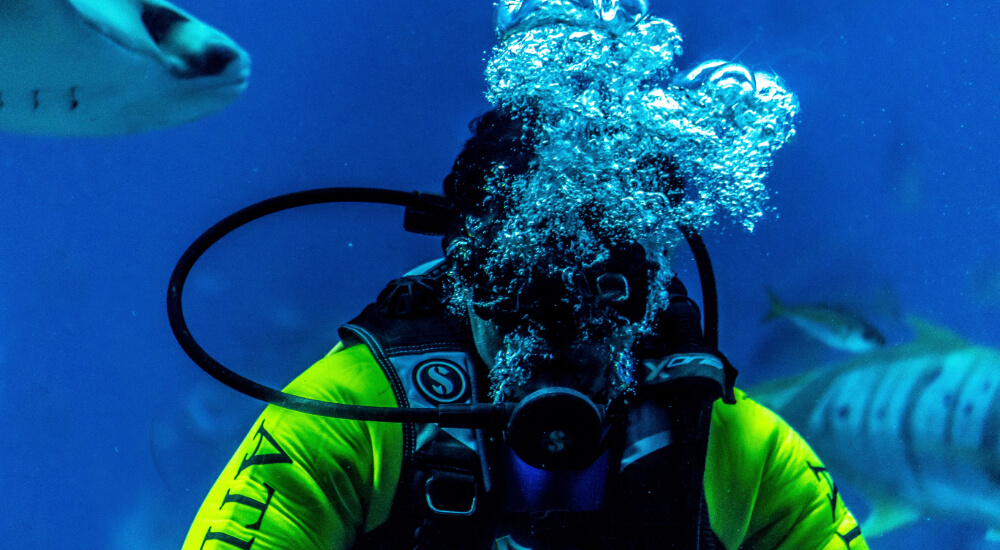scuba diving during the coronavirus outbreak