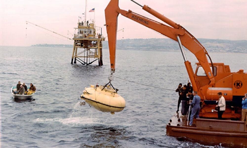 SP-350 Denise diving saucer