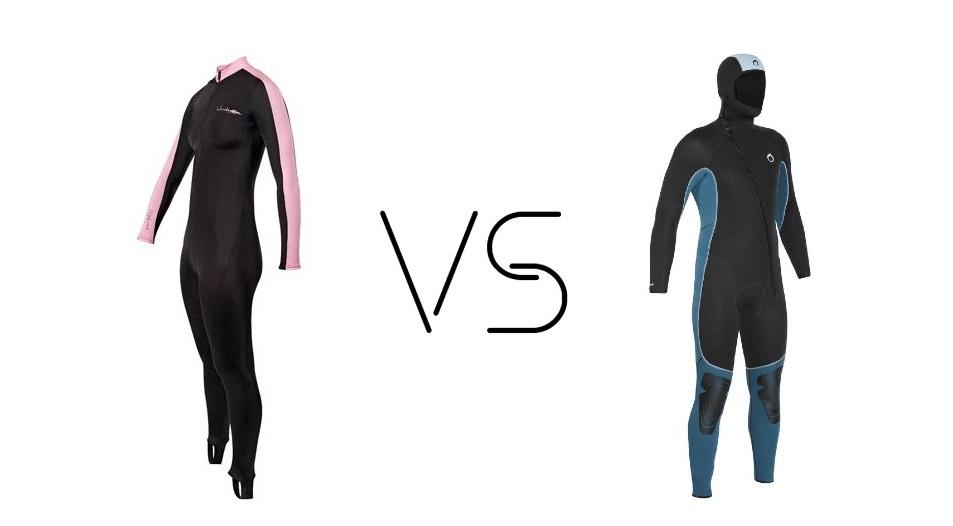 dive skin vs wetsuit