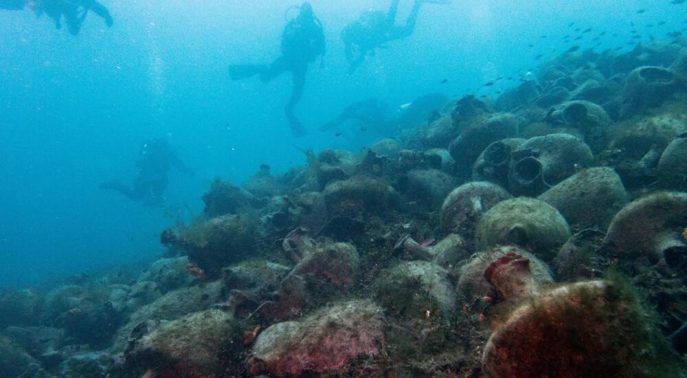 Peristera shipwreck underwater museum greece