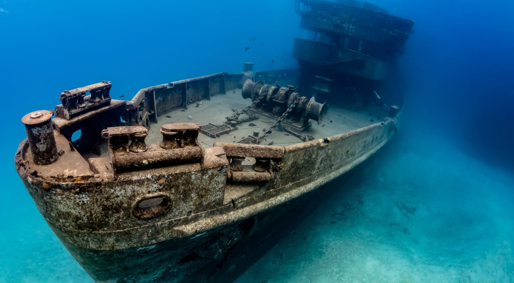 USS Kittiwake, one of the most famous shipwrecks in the world