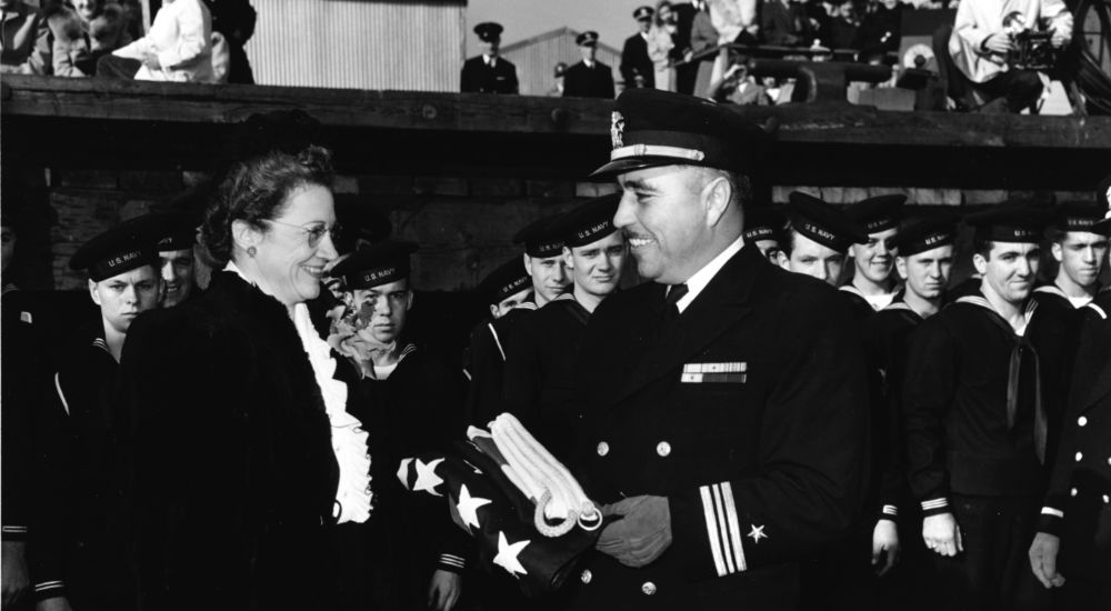 Commander Ernest Edwin Evans